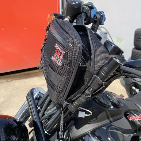 SUPPORT 81 Handle Bar Bag(BLACK)