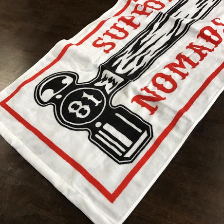 SUPPORT81 NOMADS JAPAN TOWEL  (White)