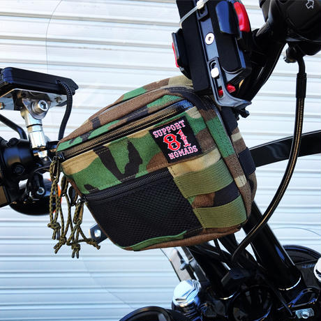 SUPPORT 81 Handle Bar Bag (WL-CAMO)