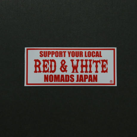 SUPPORT STICKER  (Standard Size)