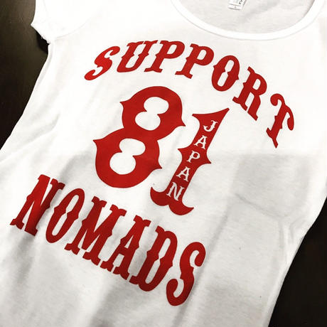 SUPPORT 81 Lady's T-shirts  WP White