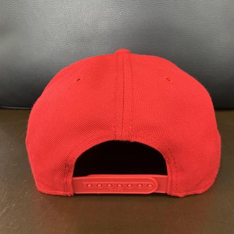 SUPPORT 81 NOMADS JAPAN Snap back hat (Font)_Red