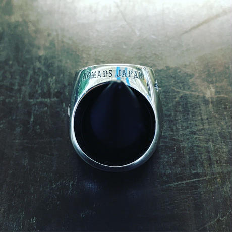 SUPPORT 81 Side Hammer Logo Ring