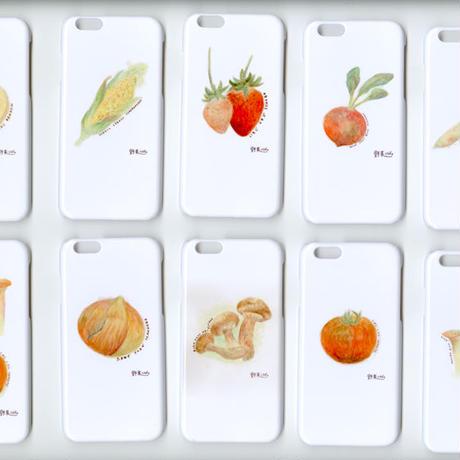 iphoneカバー iphoneケース 野菜くらぶ。2個セット iphone6s