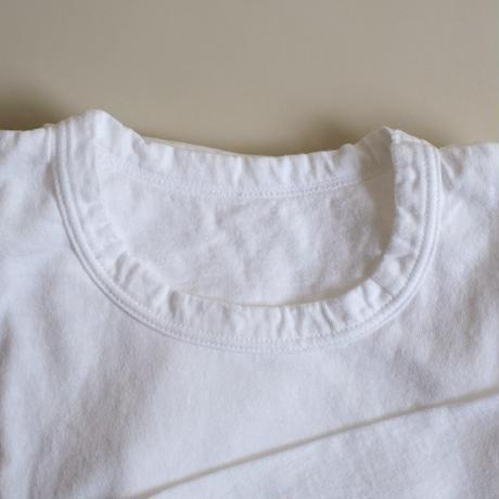 長袖Tシャツ(白)  MAROBAYA