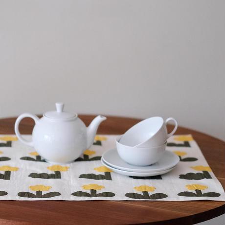お花ランチョンマット|pot and tea