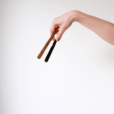 竹のトング(小) 下本一歩
