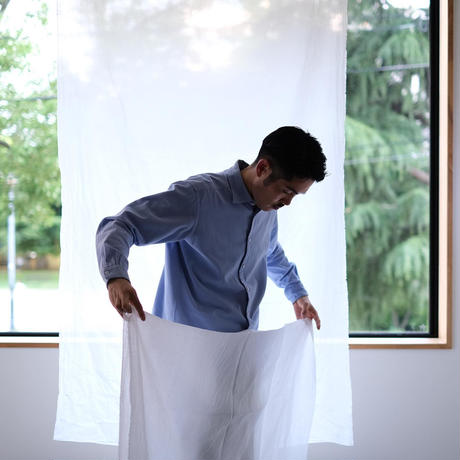 白い長風呂敷 MAROBAYA