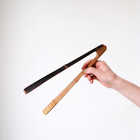 竹のトング(大)|下本一歩