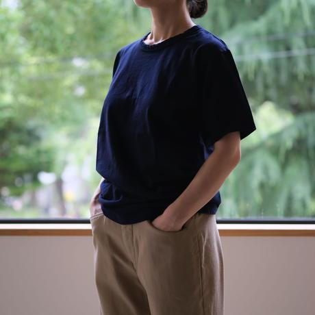半袖Tシャツ(紺) MAROBAYA