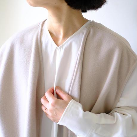 V neck dress with vest