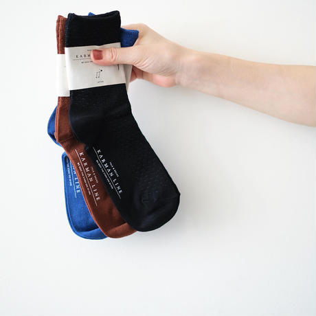 琴座の靴下(23~25cm)|KARMAN LINE