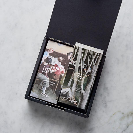 [選べる]リトルバイト ココナッツソルト&お茶 ギフトBOX