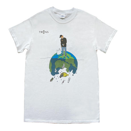 TWINS Be Clean Tシャツ