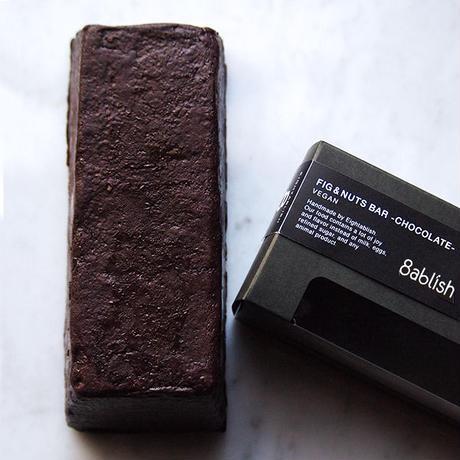フィグ&ナッツバー チョコレート