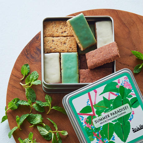 [季節限定]SUMMER PARADISE! ミント&チョコレートクッキー