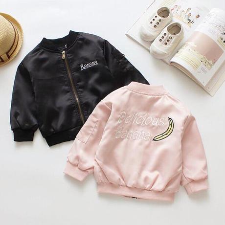 送料無料❤︎banana  jacket★ジャンパー