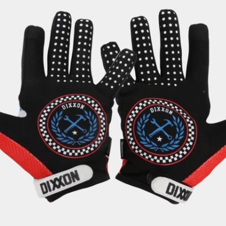 DIXXON RED, WHITE, & BLUE GLOVES