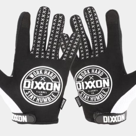 DIXXON WORKING CLASS GLOVES - BLACK & WHITE