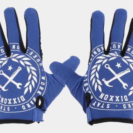 DIXXON CRESTED GLOVES - BLUE