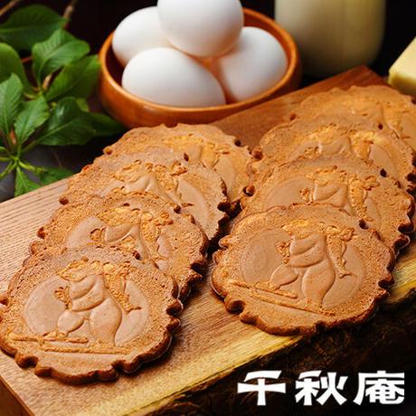 千秋庵 北海道銘菓 山親爺 10枚入(2枚包×5個) 洋風せんべい