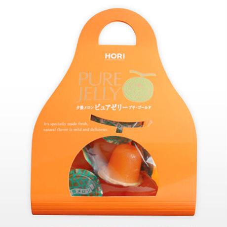 【HORI】-ホリ- 夕張メロンピュアゼリー プチゴールド キャリー