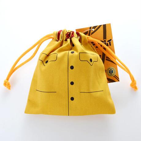 【メール便送料込み 代引き不可 同梱不可】 ゴールデンカムイ 巾着 きびだんご 鯉登少尉 【同一商品のみ2個まで同梱可】