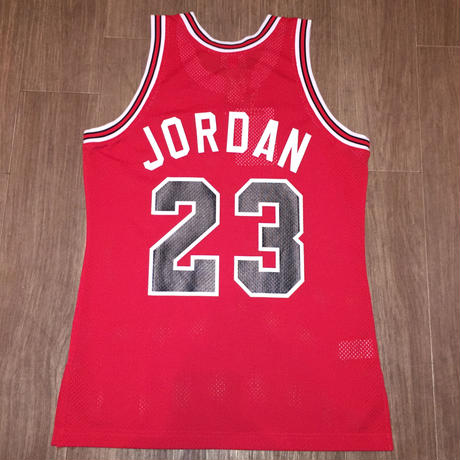 MITCHELL&NESS BULLS #23 JORDAN 1984-85 AUTHENTIC JERSEY AWAY