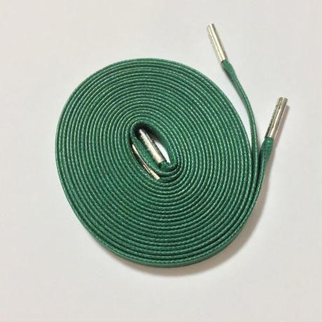 KIXSIX WAXED SHOELACE (CAPSULE) - GREEN