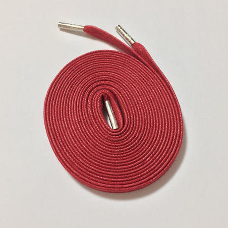 KIXSIX WAXED SHOELACE (CAPSULE) - RED