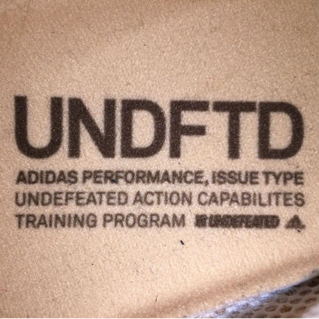 ☆UNDEFEATEDコラボ -【USED】ADIDAS ADIZERO ADIOS UNDFTD