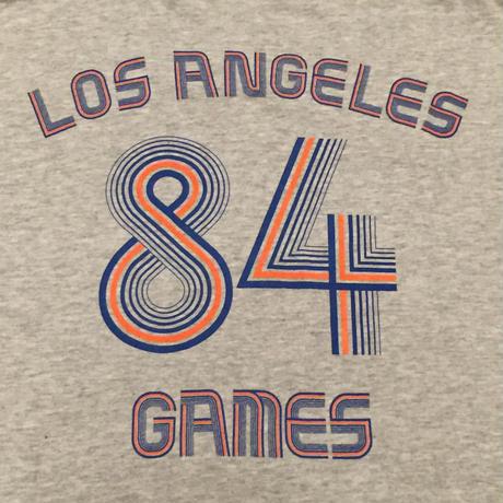 ☆1990'S MID-LATE -【USED】NIKE 84 LOS ANGELES GAMES TEE