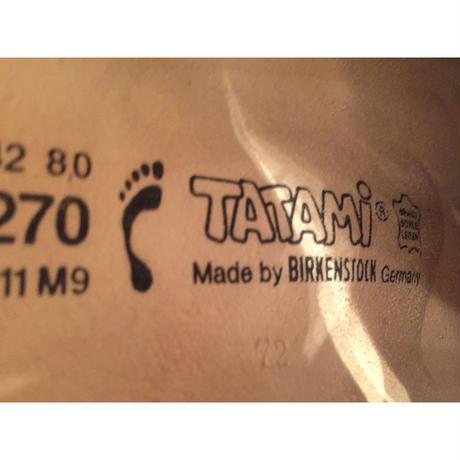 【VINTAGE】TATAMI (BIRKENSTOCK) YUKON WHITE