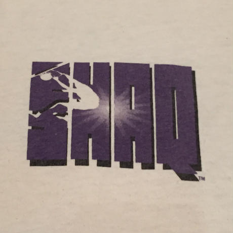 ☆1990's LATE・アメリカ製 -【VINTAGE】【USED】REEBOK SHAQ DON'T GET CAUGHT IN MY SHADOW TEE