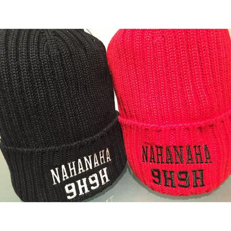 9H9H_NAHANAHA ORIGINAL LOGO BEANIE