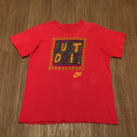 ☆1990's・アメリカ製 -【VINTAGE】NIKE JUST DO IT TEE