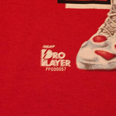 ☆1990's LATE・アメリカ製 -【VINTAGE】PRO PLAYER DENNIS RODMAN BULLS TEE