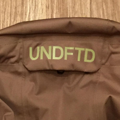 ☆UNDEFEATEDコラボ - ADIDAS x UNDEFEATED 3L GTX JACKET