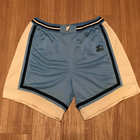 【USED】STARTER NORTH CAROLINA HOME REPLICA SHORT