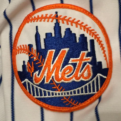 ☆アメリカ製 -【USED】FELCO NEW YORK METS STUDIUM JACKET
