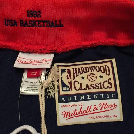 MITCHELL&NESS NBA USA BASKETBALL SHORTS 92 AWAY
