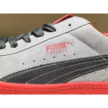 ☆CROOKED TONGUESコラボ・世界300足限定 - PUMA CLYDE CT