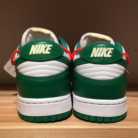 ☆OFFWHITEコラボ - NIKE DUNK LOW LTHR / OW