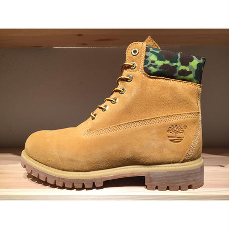 TIMBERLAND 6IN PREM WP BT WHEAT CAMO