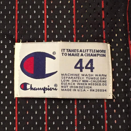 ☆1990's MID・アメリカ製 -【VINTAGE】CHAMPION BULLS #23 JORDAN AUTHENTIC 3RD JERSEY