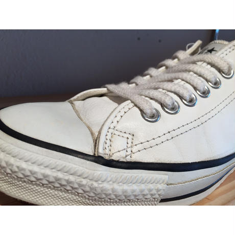 ☆1990's・アメリカ製 -【VINTAGE】【USED】CONVERSE ALL STAR LOW LEATHER