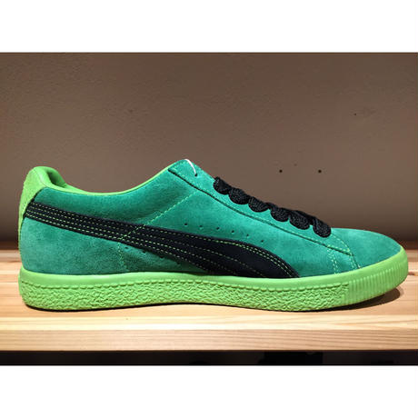 ☆CROOKED TONGUESコラボ・世界300足限定 -【USED】PUMA CLYDE CT