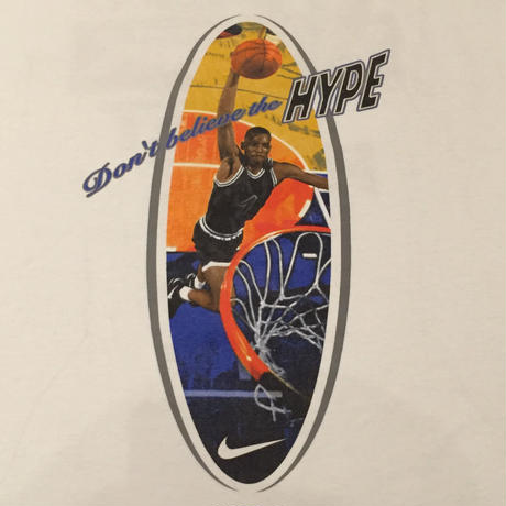 ☆1990's MID・アメリカ製 -【VINTAGE】NIKE PENNY DON'T BELIEVE THE HYPE TEE