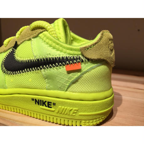 ☆OFFWHITEコラボ - NIKE THE 10 : NIKE FORCE 1 (TD)