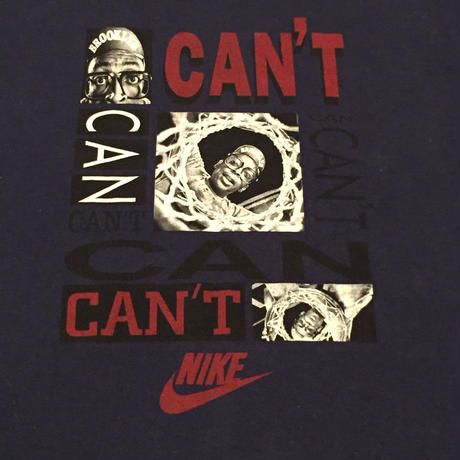 ☆1990'S LATE-2000'S EARLY - 【USED】NIKE SPIKE LEE MARS CAN CAN'T TEE